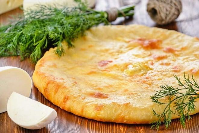 пирог с сыром адыгейским
