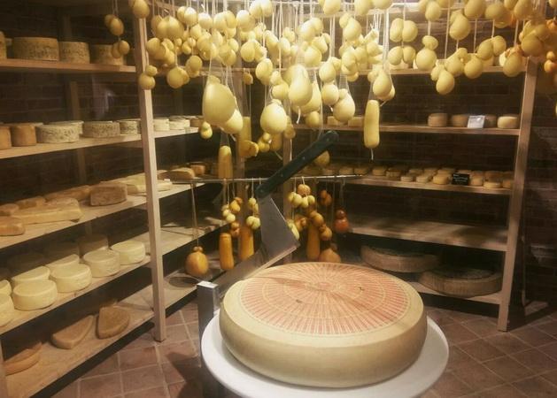 Процесс созревания сыров