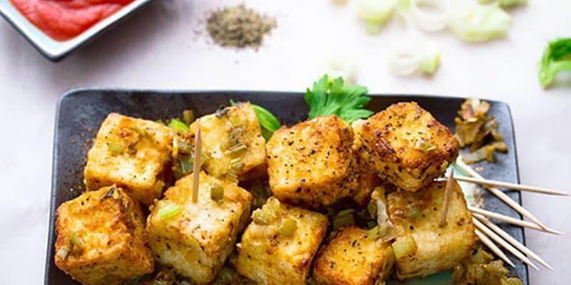Тофу в духовке