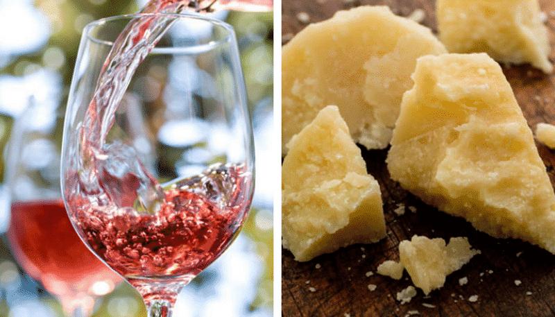 Чеддер и красное вино