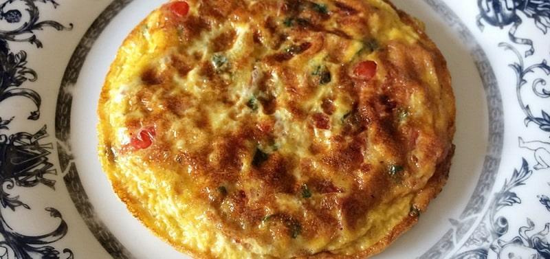 Итальянская вегетарианская фриттата