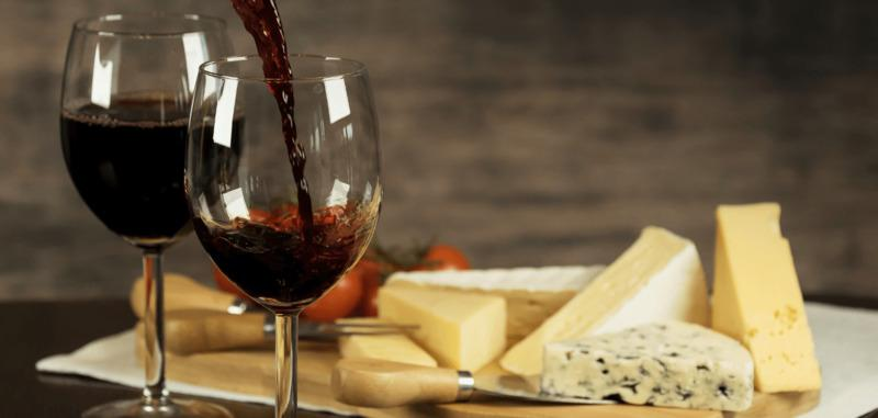 Сыр и вино